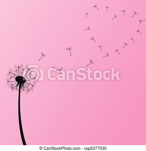Dandelion Illustration - csp5377030