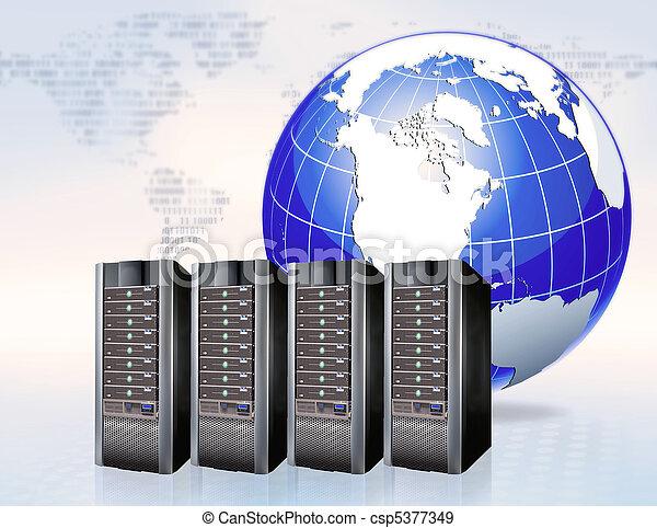 global communication  - csp5377349