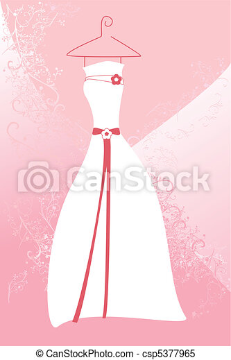 Wedding dress - csp5377965