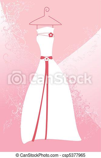 Wedding dress - csp5377965