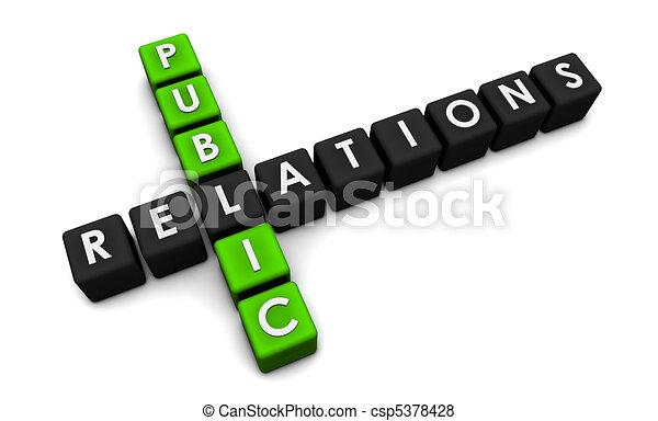 Public Relations - csp5378428