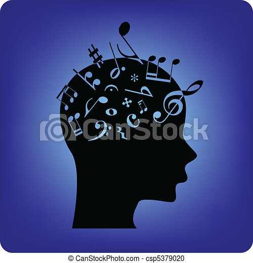Musical notes - csp5379020