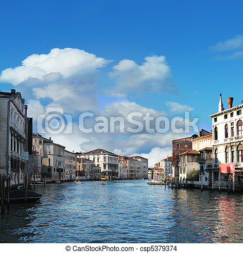Grand Canal - csp5379374