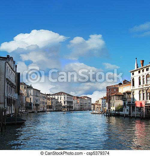 Grand Canal - csp5379374