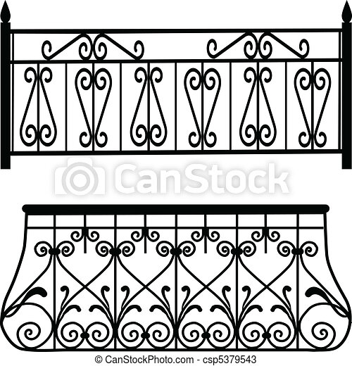 Balcony railings - csp5379543
