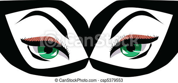 Beautiful eyes - csp5379553