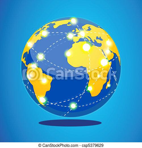 world tour - csp5379629