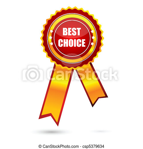 best choice award - csp5379634