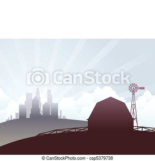 City and country - csp5379738
