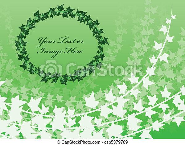 Layered ivy background - csp5379769