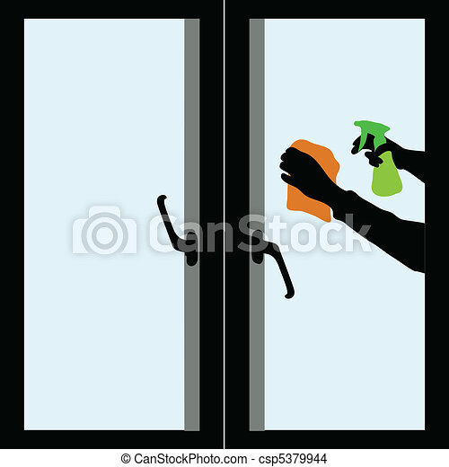 Cleaning windows - csp5379944