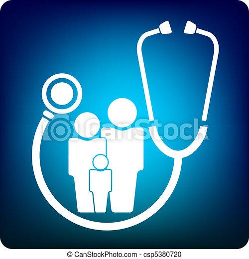 Vector Clipart of family practice - doctor csp5380720 ...