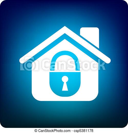 Home lock - csp5381178