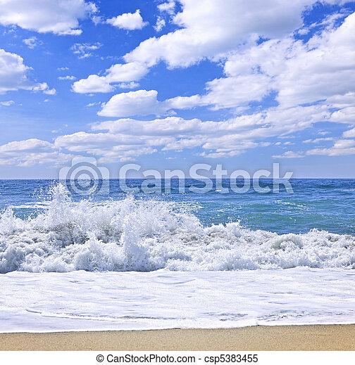 Ocean surf - csp5383455
