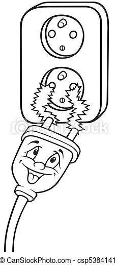 electricity clip art with Electric Outlet 5384141 on 503245387 likewise Silhouette Electrician Working On 12369768 together with Electricity pole further Fossil fuels clipart likewise Thunder.