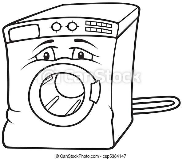 Washing Machine - csp5384147