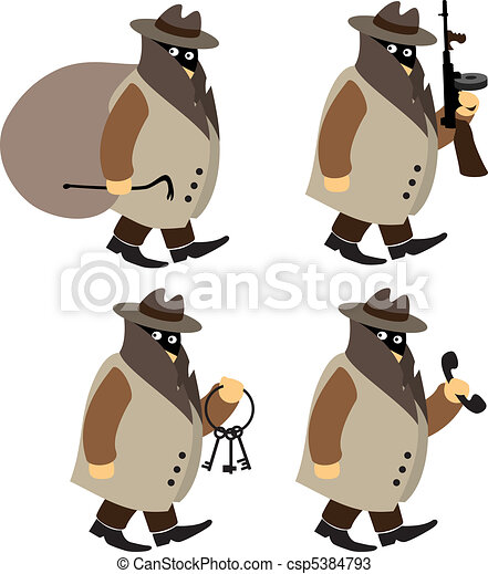 Criminals - csp5384793