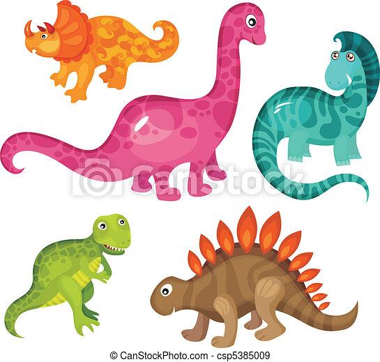 dinosaur set - csp5385009