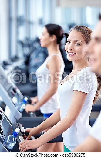 Fitness center - csp5386275