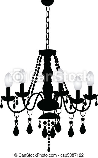 Decorative Chandelier - csp5387122