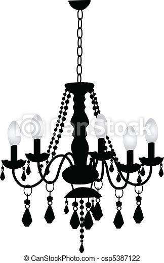 Decorative Chandelier - csp5387122