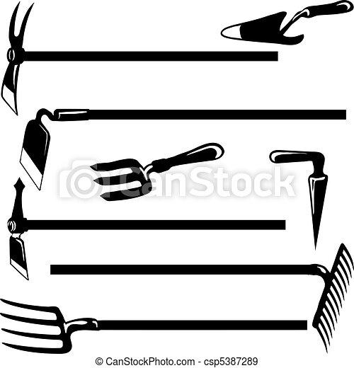 Garden tools - csp5387289