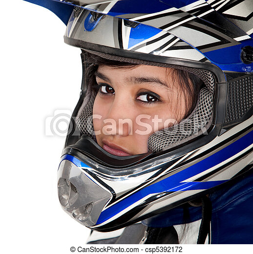 Young Latina Racer - csp5392172