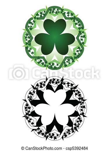 Luck tattoo - csp5392484