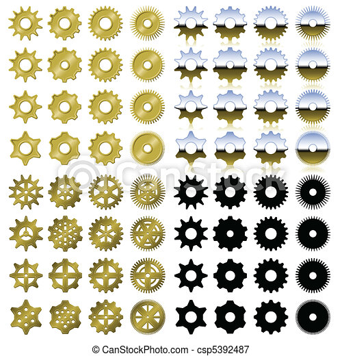 Gear collection - csp5392487