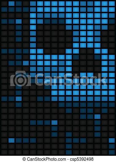 Blue screens of death - csp5392498