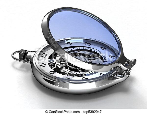 Pocket watches - csp5392947