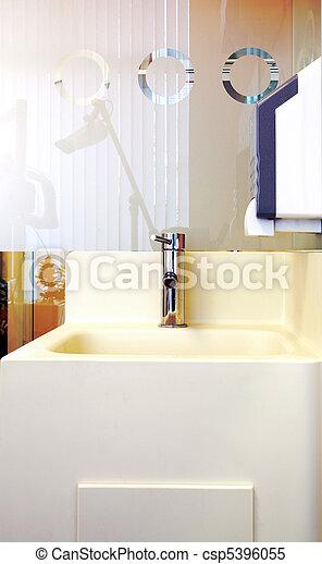 Modern Lavatory  - csp5396055