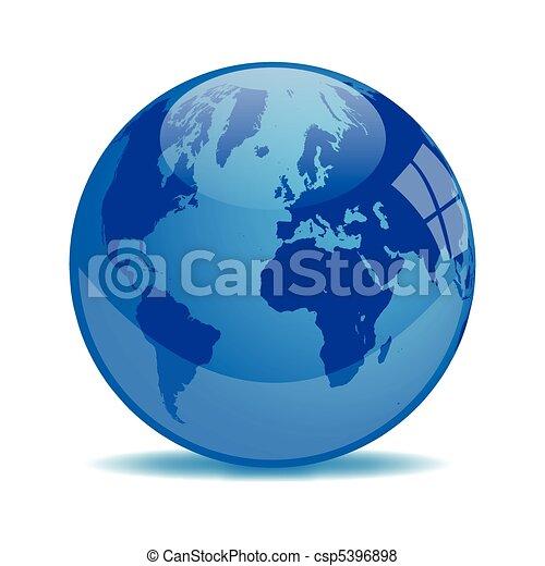 Blue Earth Orb - csp5396898