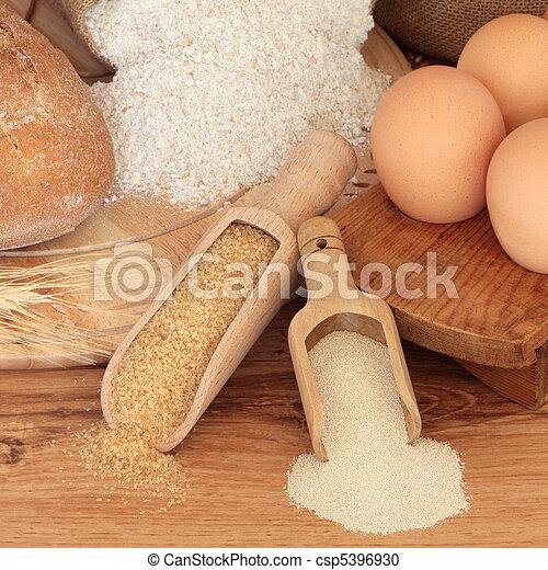 Baking Ingredients - csp5396930