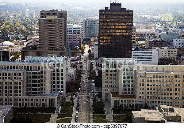Aerial Baton Rouge - csp5397077