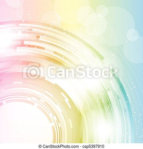 colourful abstract  - csp5397910