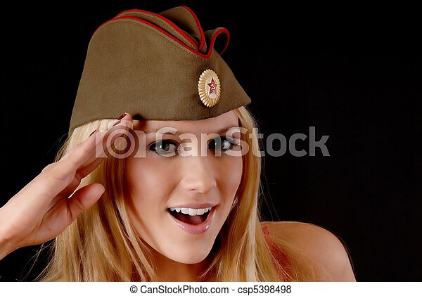 Soviet Girl - csp5398498