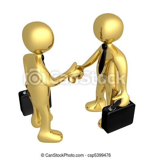 Business Deal - csp5399476