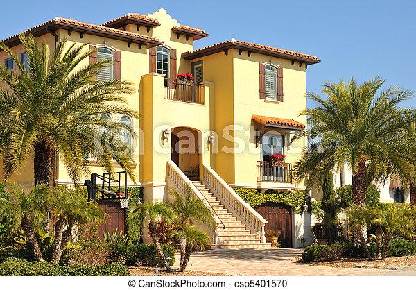 Beautiful three story spanish home - csp5401570