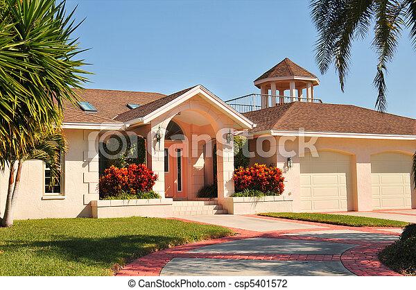 photo de maison style ranch gazebo moderne modern ranch csp5401572 recherchez des. Black Bedroom Furniture Sets. Home Design Ideas