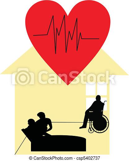 Palliative care at home - csp5402737