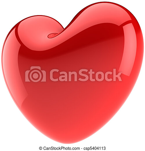 Valentine heart shape in Love - csp5404113