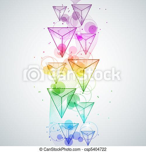 Rainbow cubes - csp5404722