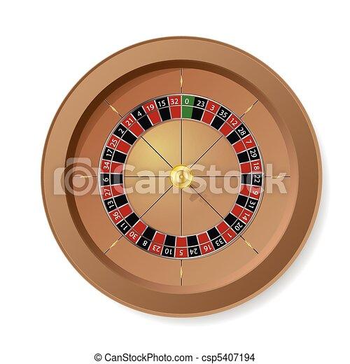 Roulette Wheel - csp5407194