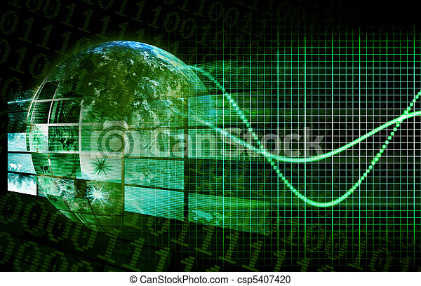 piattaforma, tecnologia - csp5407420
