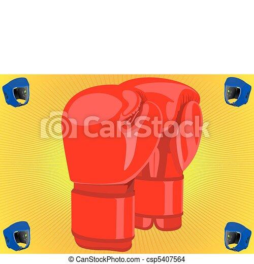 Boxing gloves - csp5407564
