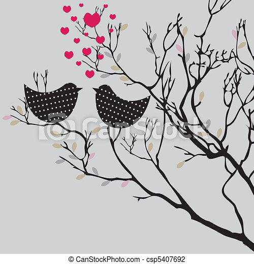 Valentine's  background. vector illustration - csp5407692