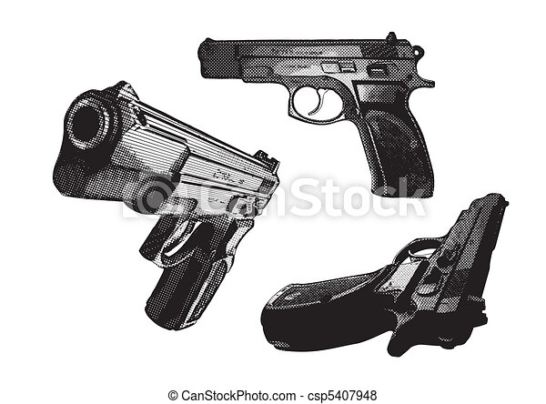 pistols - csp5407948