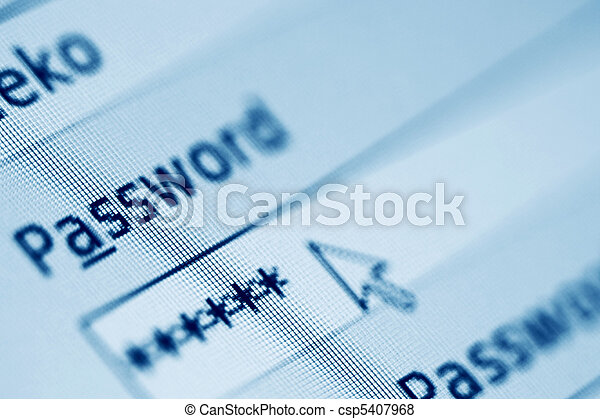login  password - csp5407968