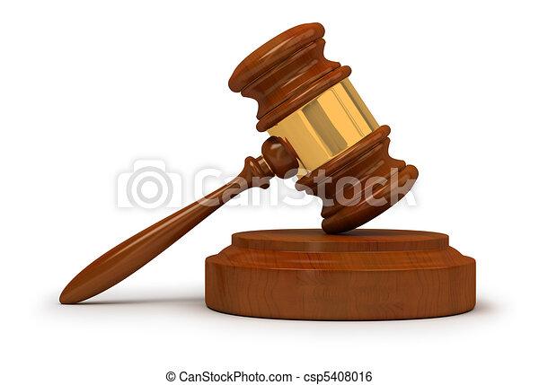 judge gavel - csp5408016